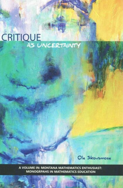 Critique as Uncertainty Hardcover
