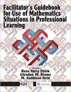 Facilitator's Guidebook for Use of Mathematics Situations in Professional Learning Hardcover