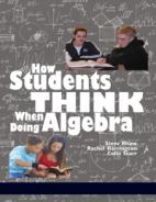 How Students Think When Doing Algebra Hardcover