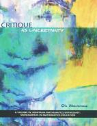 Critique as Uncertainty Paperback