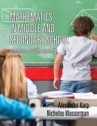 Mathematics in Middle and Secondary School: A Problem Solving Approach Paperback