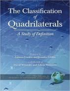 The Classification of Quadrilaterals: A Study in Definition Hardcover